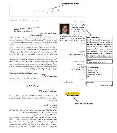 Este blog traducido al farsi