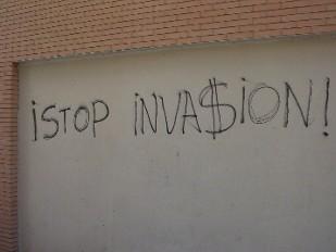 Stop invasión